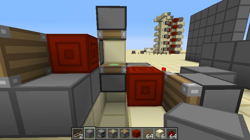 我的世界bud活塞电梯制作方法原理详解
