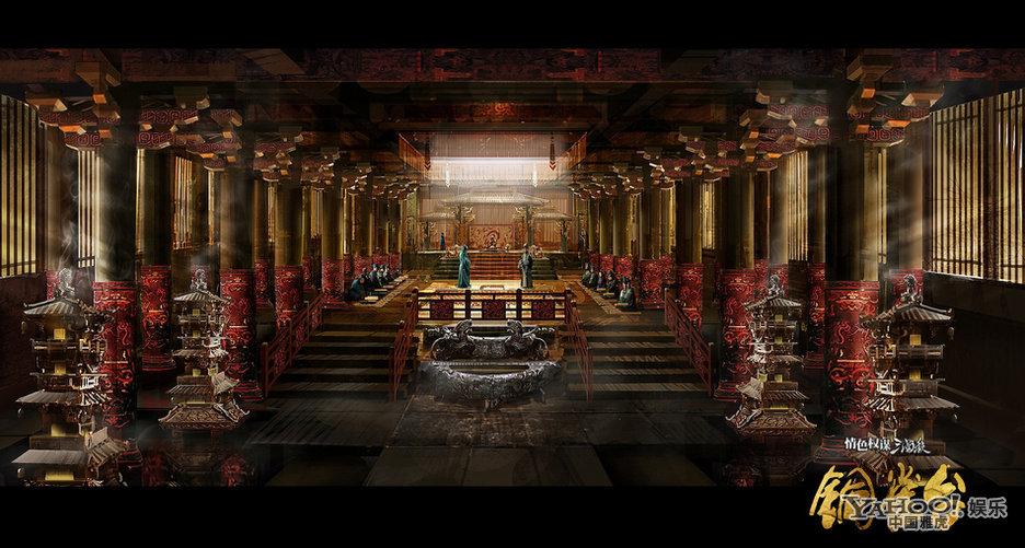 中国古代宫殿图片