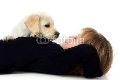 小孩和狗狗_小孩和狗狗萌照,萌小孩和狗狗图像图片_1