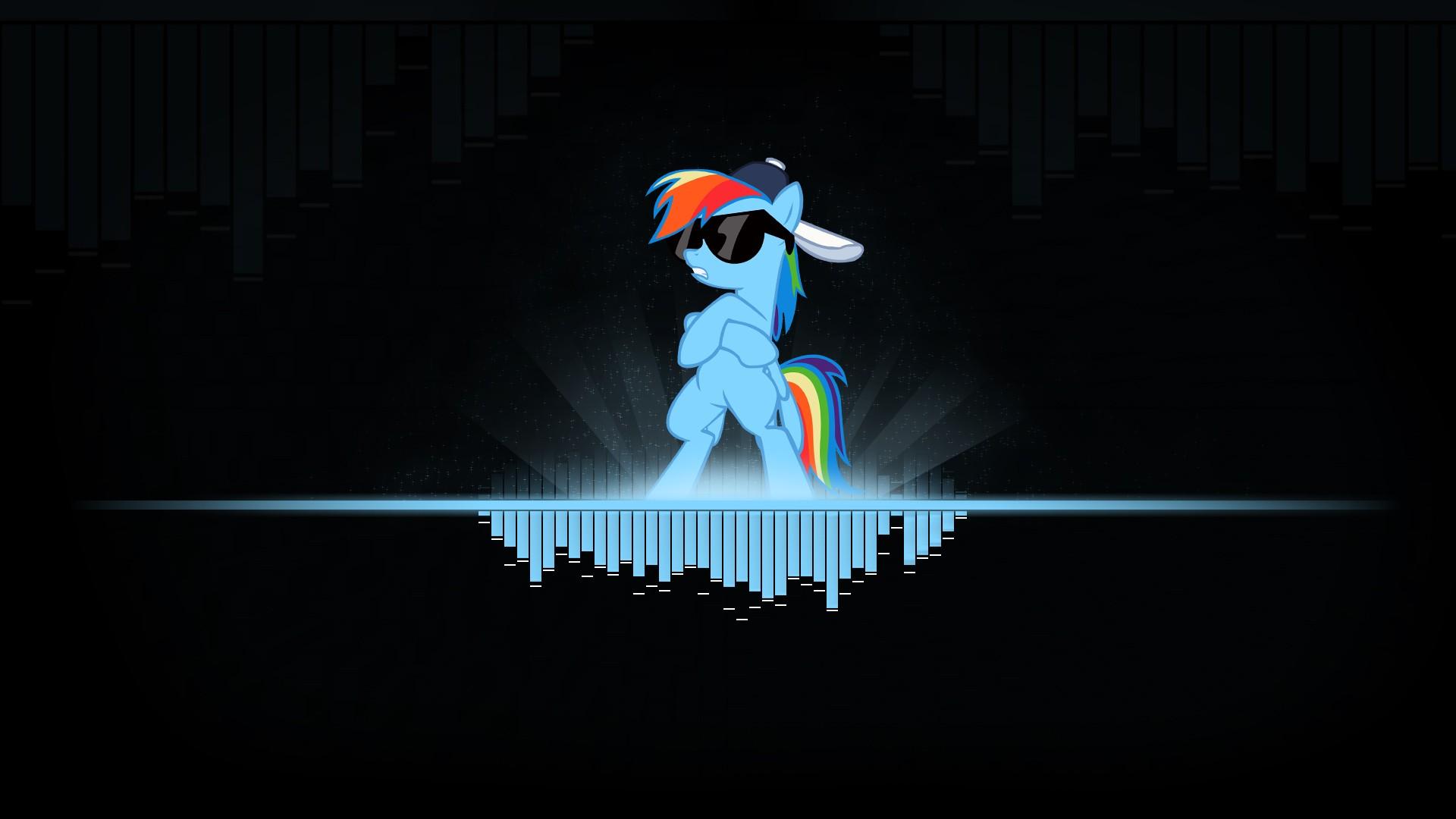 小马短跑彩虹的高清壁纸1920x1图片