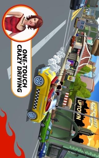 疯狂出租车:都市狂奔 无限金币版 賽車遊戲 App-癮科技App