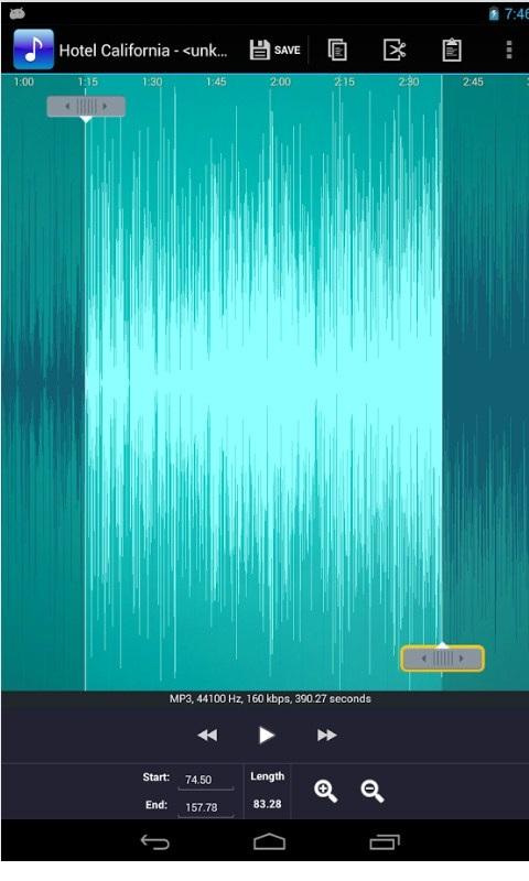 铃声剪辑-应用截图