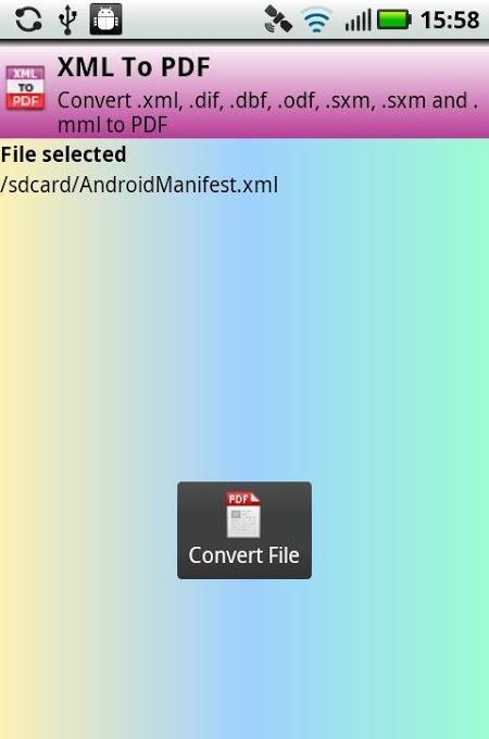 玩生產應用App|Convert XML To PDF免費|APP試玩