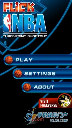NBA全明星挑战赛 Flick NBA Basketball