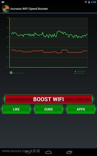 增加WIFI速度的助推器