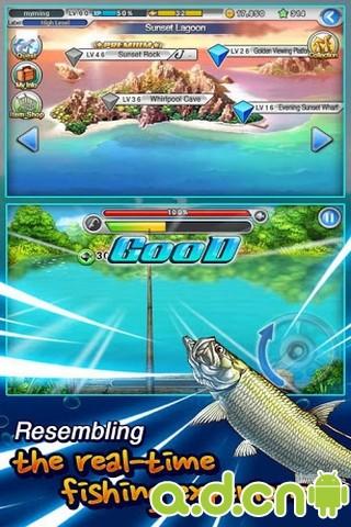 LINE轻松钓鱼-应用截图