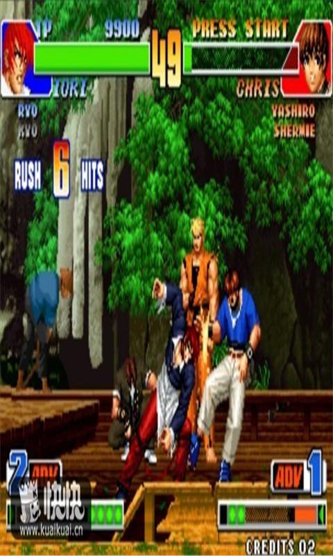 98拳皇游戏 单机版