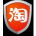 淘宝安全中心 工具 App LOGO-硬是要APP