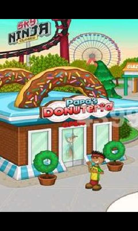 老爹甜甜圈店