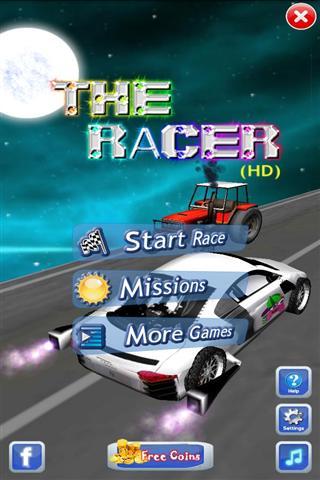 赛车游戏 The Racer HD