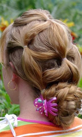 辫子发型教程
