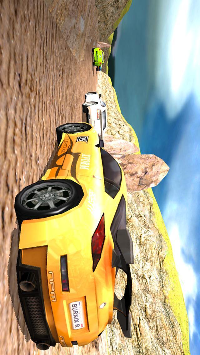 峡谷增压赛车