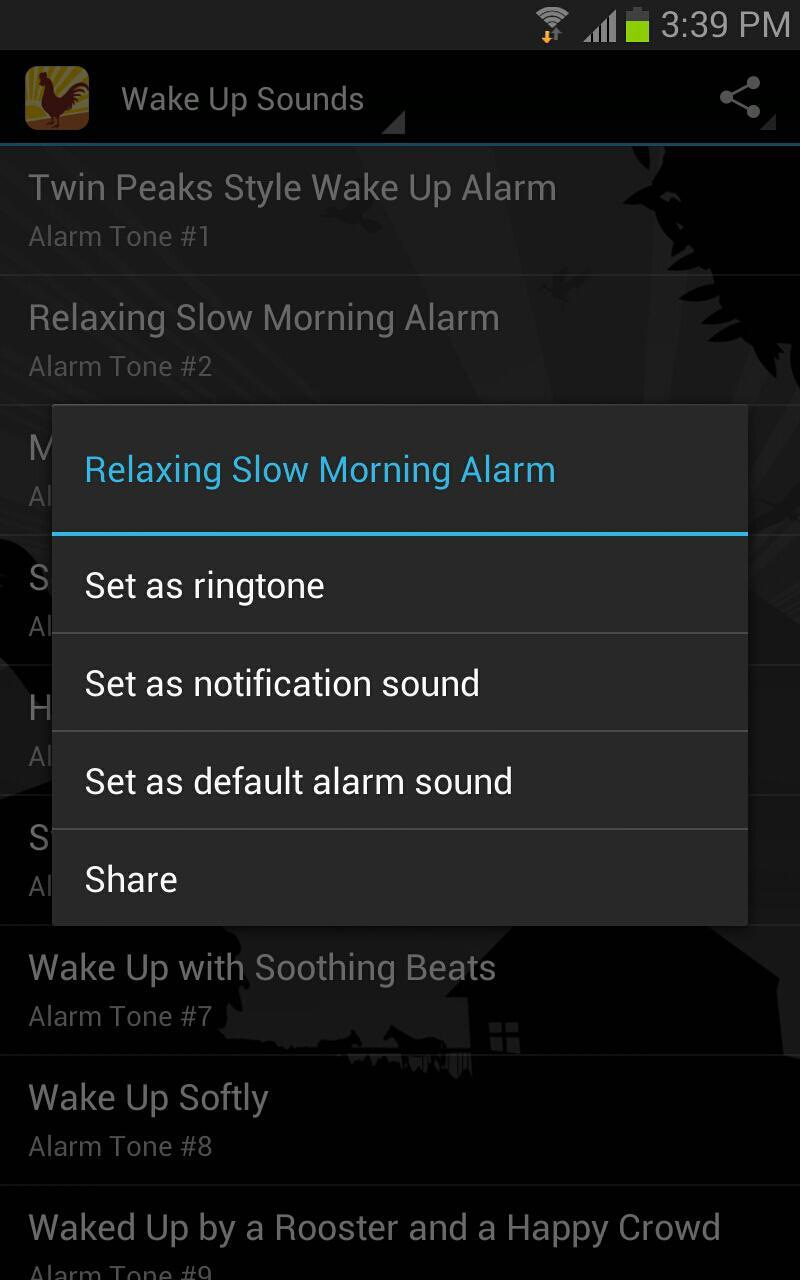 醒来闹钟铃声-应用截图