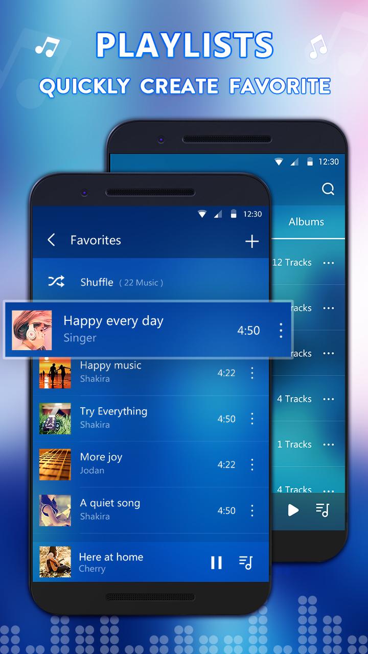 音乐播放器-应用截图