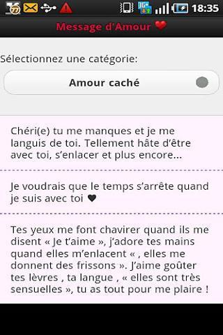 Phrases d Amour
