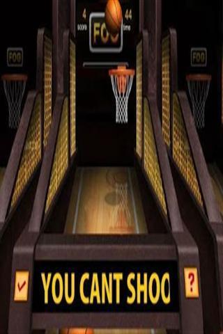 3 d篮球射击游戏