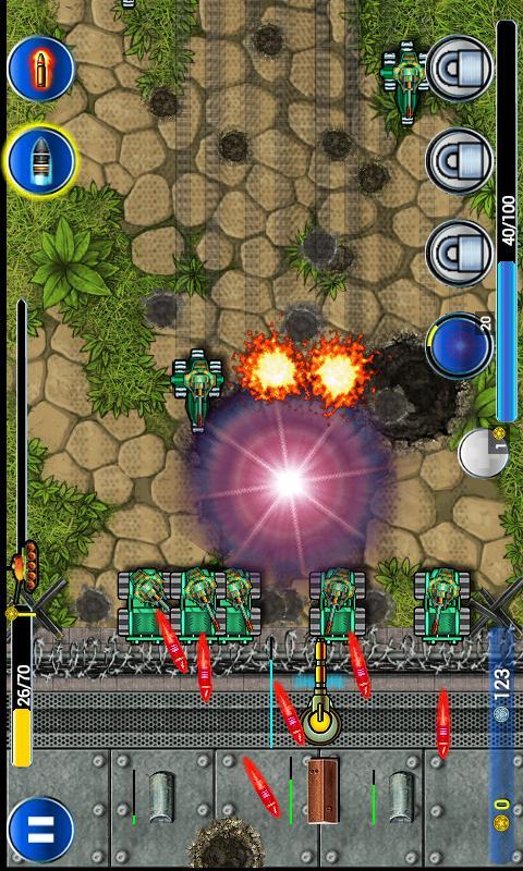 现代坦克防御