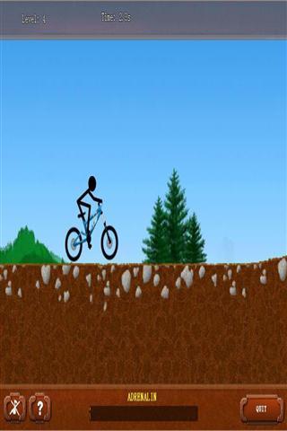 火柴人骑自行车