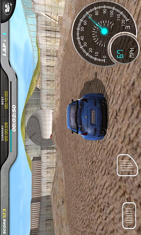 3D模拟赛车-应用截图