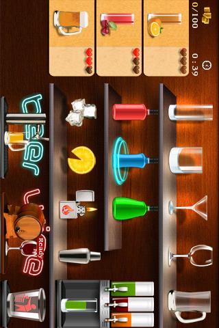 鸡尾酒制作 Cocktail Frenzy Free|玩遊戲App免費|玩APPs