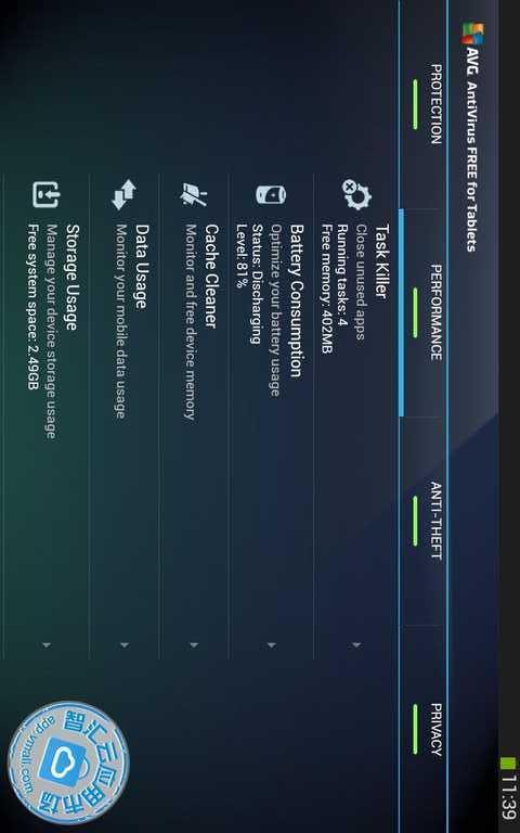 免费杀毒 - 平板电脑 Tablet AntiVirus-应用截图