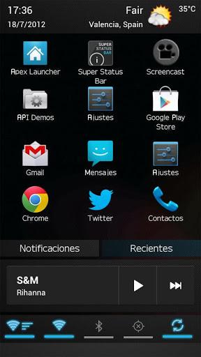 【免費工具App】超級狀態欄-APP點子