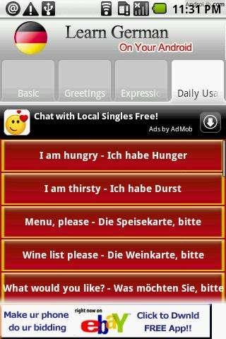 【免費體育競技App】学习德语-APP點子