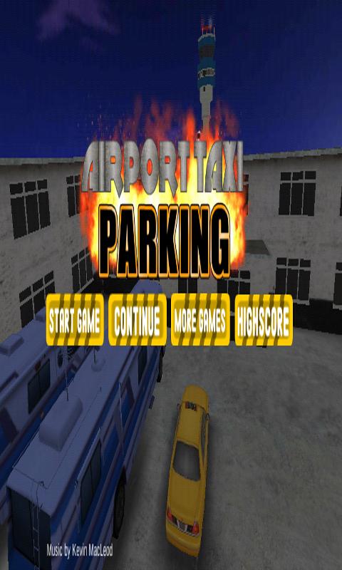 机场3D出租车停车