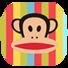 大嘴猴条纹控-桌面主题