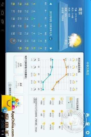 【免費生活App】中华万年历HD-APP點子