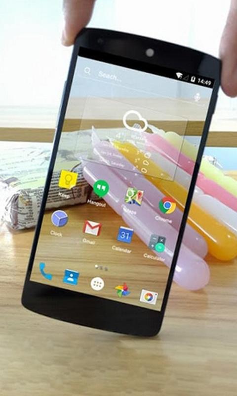 透明屏幕手机助手-应用截图