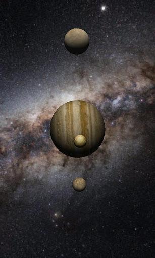 3D重力感应宇宙动态壁纸-应用截图